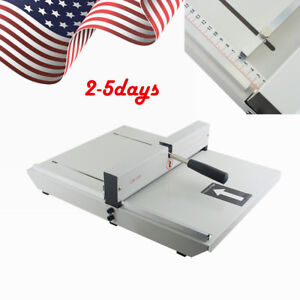 Manual Paper Creaser Creasing Machine 350mm A4 Card Covers Commercial Cut Tool