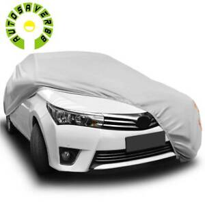 Universal Fit Car Cover Breathable Anti Scratch Outdoor All Weather Protection