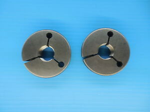7 8 14 Unf 2a Thread Ring Gages 875 Go No Go P d s 8270 8216 Inspection