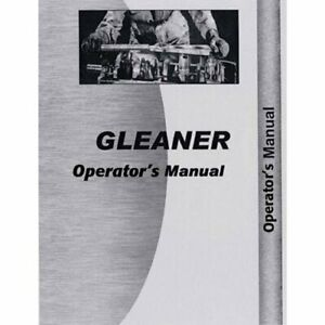 Operator s Manual F3 Gleaner F3 F3