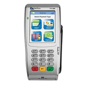 Verifone Vx680 Wifi bluetooth emv chip Card nfc only For Elavon Clients