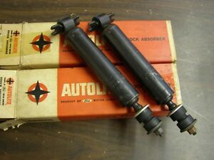 Nos Oem Ford 1967 1968 Galaxie 500 Xl Ltd Front Shocks Autolite Mercury