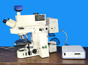 Zeiss Axiosplan 2 Mot Fluorescence Phase Contrast Dic Microscope
