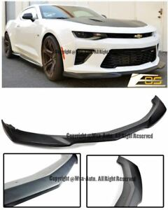 Eos Kit For 16 Up Camaro Ss V8 Zl1 Style Abs Plastic Front Bumper Lip Splitter