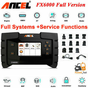 Ancel Fx6000 Ecu Coding Full Systems Abs Srs Oil Light Epb Tpms Immo Scanner