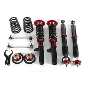 Coilovers Kits For Bmw E46 3 Series Base Sedan 4 door Adj Height Shock Absorbers