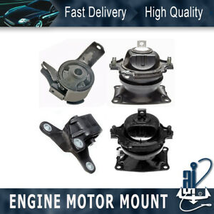 Anchor engine Auto Trans Mount 4pcs For 2011 2016 honda odyssey 3 5l 6 Speed