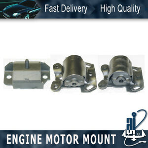 3pcs Anchor Engine At Trans Mount Kit For 85 86 Chevrolet C10 4 3l Rwd 4 Speed
