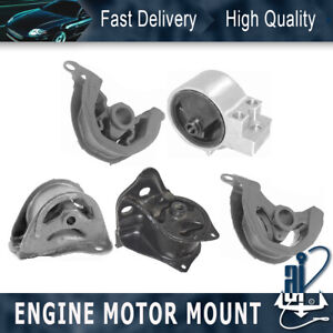 Anchor engine Mt Mount 5pcs For 97 01 acura integra 1 8l 5 Speed gs r type R