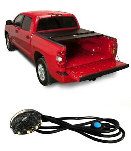 Bak Industries Bakflip Fibermax Hard Tonneau Race Sport 20 Led For Tacoma 6