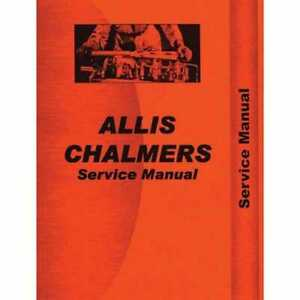 Service Manual Ac s 5040 Allis Chalmers 5045 5045 5040 5040