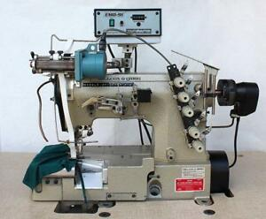 W g Pegasus W562 05bb Elastic Attaching Coverstitch Industrial Sewing Machine