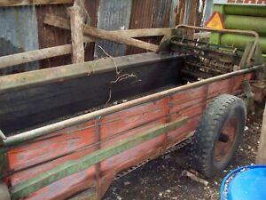 Manure Spreader New Idea No 19 number 19 Used Manure Spreader