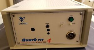 Cosmed Quark Pft4 ergo Pulmonary Function Test With Cardio Pulmonary Stress Test