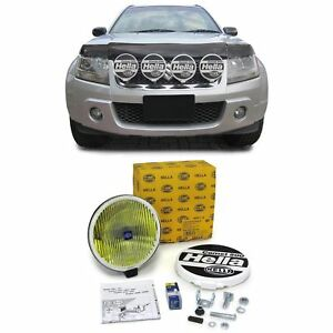 Original Hella Comet 500 Fog Light H3 With Cap Universal Yellow Round