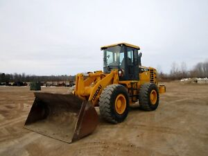2012 Hyundai Hl740 9 Wheel Loader With Only 2884 Hours
