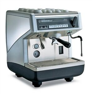 Nuova Simonelli Apppia Ii 1 Group Automatic Espresso Machine On Sale Italy