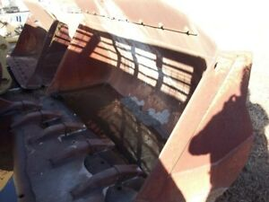 Used Need Inspection 6k1256 966c Gp Bucket With Good Blades Needs Liner