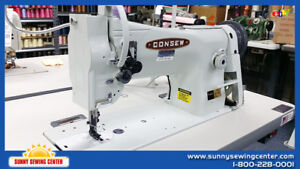 Consew 206rb 5 Single Needle Walking Foot Leather And Upholstery Sewing Machine