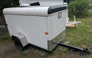4x8 Enclosed Cargo Box Hauler Trailer