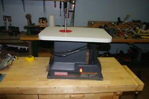 Craftsman Oscillating Spindle Sander Complete With Spindles And Sleeves