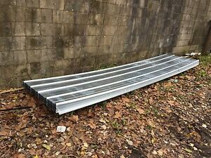 Corrugated Galvalume Metal Roofing Panels 3ft X20ft 50 Sheets