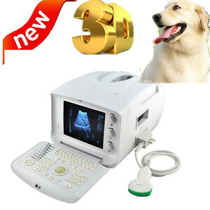 10 lcd Vet Veterinary Ultrasound Scanner Scan System 3 5mhz Convex 3d Clear