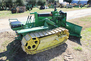 Antique John Deere M 40 Crawler Dozer Front Support And Bumper Farmerjohn