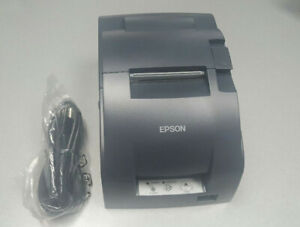 Epson Tm u220b Receipt Kitchen Pos Printer Serial Interface With Power Supply