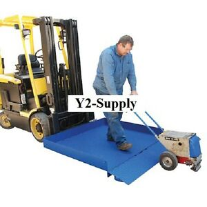 New Forklift Loading Platform Attachment 2000 Lb Capacity