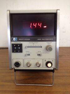 Hp 8900d Peak Power Meter Tested Working Free 2 Ship See Description