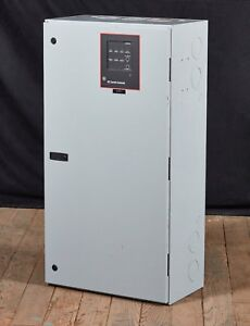 Ge Zenith Ztg Automatic Transfer Switch W Mx100 200a 120 240v 3ph Excellent