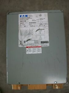 Eaton Dry type Distribution Transformer Model S20n11s10n New W scuffs