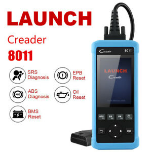 Launch Creader 8011 Car Airbag Srs Abs Bms Epb Oil Reset Tool Auto Obdii Scanner