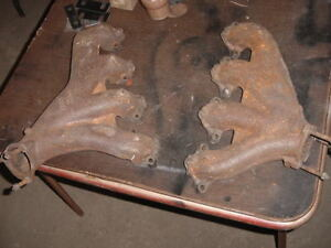 Corvette C2 C3 Big Block Exhaust Manifolds For Side Pipes