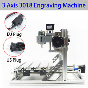 3 Axis Diy Mini Cnc Wood Engraving Carving Pcb Milling Machine Router Engraver