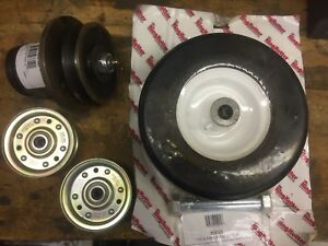 King Kutter County Line Finishing Mower Wheel Spindle Idler Pulley