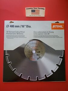 Stihl Cutoff 16 Diamond Cutting Wheel Premium Line 80 Series 0835 090 2021 28j