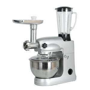 Home Stainless Steel Stand Mixer 5l Food Mixer Dough Knead Machine Meat Grinder