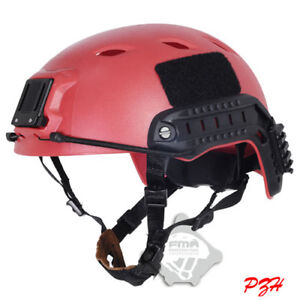 FMA Tactical Airsoft FAST Jump Military Helmet OPS-CORE ABS Base Red
