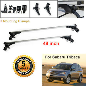 Aluminum Car Cross Bar Cargo Luggage Roof Rack For Subaru Tribeca 2008 2011
