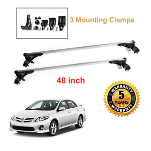 New Car Roof Cargo Luggage Carrier For Toyota Corolla 2003 2011 Cross Bar Rack