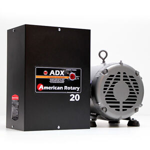 American Rotary Adx20 20hp 240v Wall Mount Adx Series Rotary Phase Converter