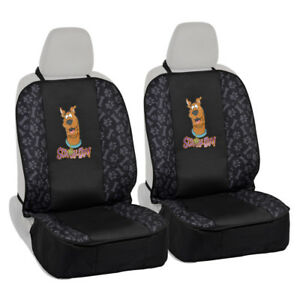 2pc Scooby Doo Front Pet Dog Cat Car Seat Covers Waterproof Seat Protectors