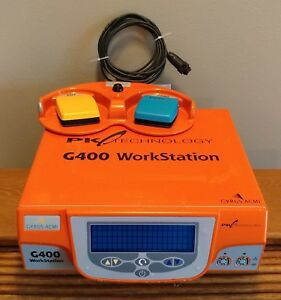Gyrus Acmi olympus G400 Rf Generator For Parts Foot switch Tested Works Great
