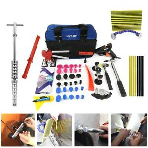 Pdr Tools Paintless Auto Body Repair Car Ding Removal Dent Puller Lifter Kit