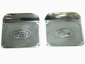 1948 1956 Ford Pickups Ford Pickup Running Board Step Plates Pair