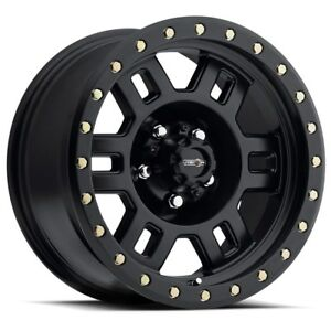 15 Inch 15x8 Wheels Matte Black 5 Lug 5x127 5x5 0 19mm Set Of 4 Rims