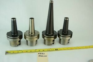 Lot Ingersoll Pokolm Hsk 100 Tool Holders Threaded Screw Top Lot Of 4