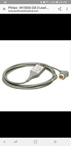 Cable Ecg 3 lead Trunk For Philips Heartstart Mrx